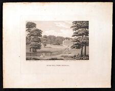 BUSH HILL PARK, MIDDLESEX 1794 William Ellis - Robert Nixon ENGRAVING #2