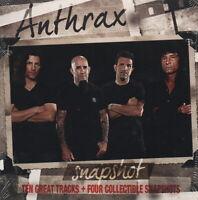 ANTHRAX - Snapshot - CD album (10 tracks & 4 snapshots - New & sealed)