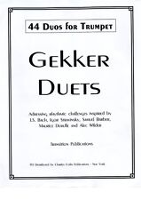 Gekker Duets Dist. by Charles Colin Publications