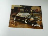 1978 Dodge Diplomat Original US Sales Brochure