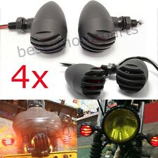 4X FOR HARLEY BOBBER CHOPPER REAR BLACK MOTORCYCLE TAIL STOP BRAKE LICENSE LIGHT