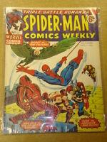SPIDERMAN BRITISH WEEKLY #63 1974 APR 27 MARVEL