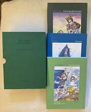 3 libro Fiaba Bimbo classici per l'infanzia Pinocchio, Peter Pan, Alice Nuovo