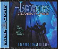 NEW The Curse of the Ancient Emerald Hardy Boys Volume 9 Audio CD Franklin Dixon