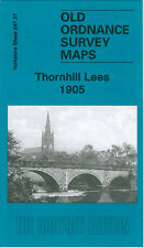 Old Ordnance Survey Map Thornhill Lees 1905 Slaithwaite Lees Hall Ravensthorpe