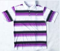 Mens Nike Golf Tour Performance Dri-Fit Striped Polo Shirt 8 Colour Variations