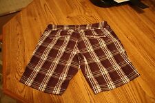 Junior's Paris Blues Plaid Shorts, Size 1