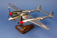 "P-38 F-5B Lightning 1:35 ""St Exupéry"" / Avion / Aircraft / YAKAiR / Woodmodel"