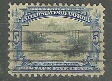 DEALER'S CHOICE U.S.1901 #297 5c Bridge at Niagara Falls WYSIWYG Lot