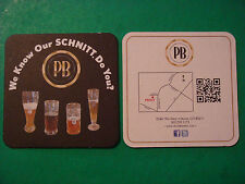 COLORADO Beer Coaster Mat ~ PROST Brewing Company ~ We Know Our Schnitt. Do You?