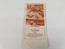 FOOTBALL BISCUITS REM REIMS MAX FULGENZY 50s NO PANINI