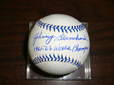 Johnny Blanchard---Autographed Baseball--Inscribed Joe Was A Super Yankee-COA