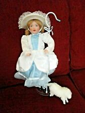 "Doll 12 inches tall ""Little Bo Peep"" from the Danbury Mint Storybook Collection"
