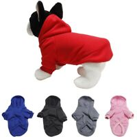 Puppy Pet Hoodie Sweater Jumper Coat Small Dogs Apparel Winter Costumes Sweater