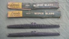 1951-55  FORD LINCOLN MERCURY NOS ARCTIC WINTER WINDSHIELD WIPER BLADES READ AD.