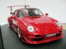 WOW EXTREMELY RARE Porsche 993 911 GT2 Evo2 600HP 1998 Red 1:43 Vitesse-Spark