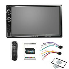 7 in 2 Din Touch Screen Car MP3 MP5 WMA Player Wireless Stereo Radio Mirror Link
