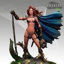 Nocturna models chasseresse female warrior 54mm résine non peinte kit
