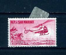 SAN MARINO - PA - 1961 - Elicottero