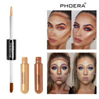 Phoera Foundation Full Coverage Liquid Base Brighten Long Lasting Shade Makeup s