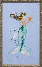 10% Off Nora Corbett/Mirabilia Ctd X-stitch Chart La Petite Mermaids-Mai Soli