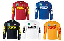 MAICO 490 MEGA CR500 CR250 RED ROCKET twinshock vintage motocross evo SHIRT