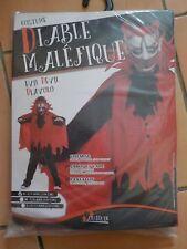 déguisement costume neuf diable maléfique 5 6 7 ans garçon 128 cm halloween