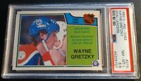 1983 WAYNE GRETZKY O-PEE-CHEE GOAL LEADERS #215 PSA 8.5 OILERS HOF POP 1
