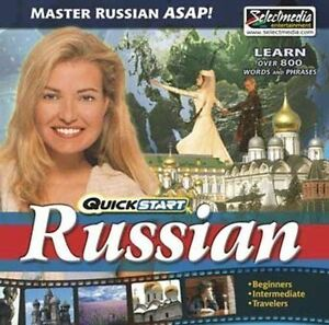 QuickStart Russian AUDIO 2 CDs   Learn Russian Quickly   Brand New Sealed