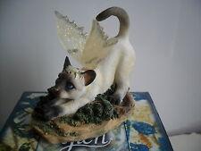 Faerie  Glen Faerie Tails Fairy Cat Figurine Siamese  Cat Dutches Boxed