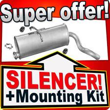 Rear Silencer CITROEN BERLINGO PEUGEOT PARTNER 1.8 1.9 D 1.1 Exhaust Box FFA