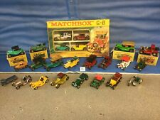 Matchbox Models Of yesteryear, 24 Early Cars 🚗, Inc G5 Gift Set, Lesney,moy
