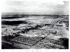 1955 Vintage Photo aerial cityscape of modern houses Leopoldville Congo Africa