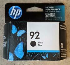 Genuine HP 92 DeskJet Black Ink Cartridge C9362WN FAST FREE SHIPPING!! C2-3