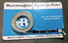 Vintage Burroughs Magnetic Tape Markers (1) and Scotch Sensing Markers (2)