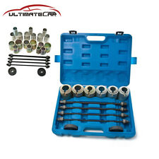 26Pc Universal Press and Pull Sleeve Kit Bush Bearing Removal/Installation Set