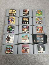 Nintendo 64 / N64 Games - Cartridges - Select & Choose - Multi Listing - PAL