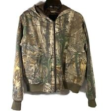 Lodge Outfitters Boys RealTree Xtra Camo Hooded Coat Size X-Large