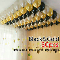 30PCS Latex Balloons for Wedding Birthday Party Decor Toy Baby Shower Supplies