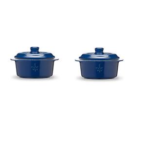 Fontignac by Zwilling 2er Mini Cocotte Kasserolle mit Deckel Keramik Auflaufform