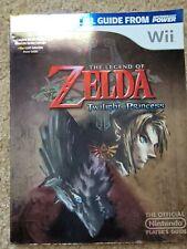 The Legend of Zelda Twilight Princess Nintendo Power Official Players Guide Wii