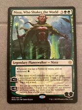 Nissa Who Shakes The World, Rare, Mint/NM, War Of The Spark, MTG
