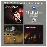 NICKELBACK - TRIPLE ALBUM COLLECTION VOL.1 - BOX-SET 3 CD NEU