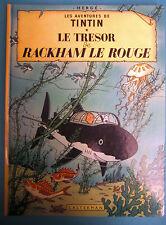 TINTIN LE TRÉSOR DE RACKHAM LE ROUGE  CASTERMAN 1981