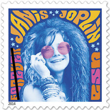 USPS New Janis Joplin Forever Stamp Sheet of 16
