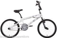 BICICLETTA 20 BMX SCORPION SCHIANO BICI FREESTYLE COLORE BIANCO NERO E ARGENTO