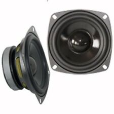 PAIRE HAUT PARLEUR HP WOOFER POLYPROPYLENE 30W 30 WATTS 8 OHMS 100mm 10cm