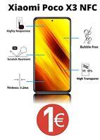 Pour Xiaomi Poco X3 NFC - vitre film protection verre trempé écran