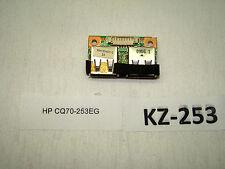 HP CQ70-253EG USB-Anschluss  Platine Anschluss #KZ-253