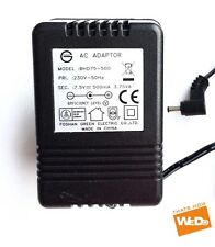 Green AC Adaptador BHD75-500 7.5V 500mA enchufe de Reino Unido